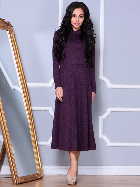 Сукня кольору марсала Laura Bettini 3891738