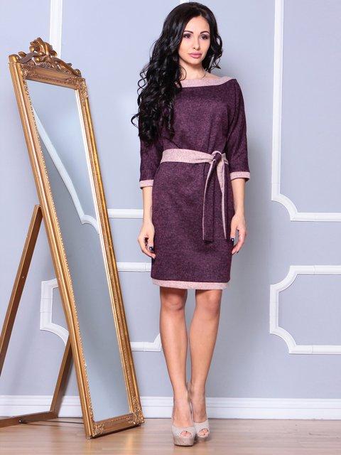 Сукня кольору марсала Laura Bettini 3891740