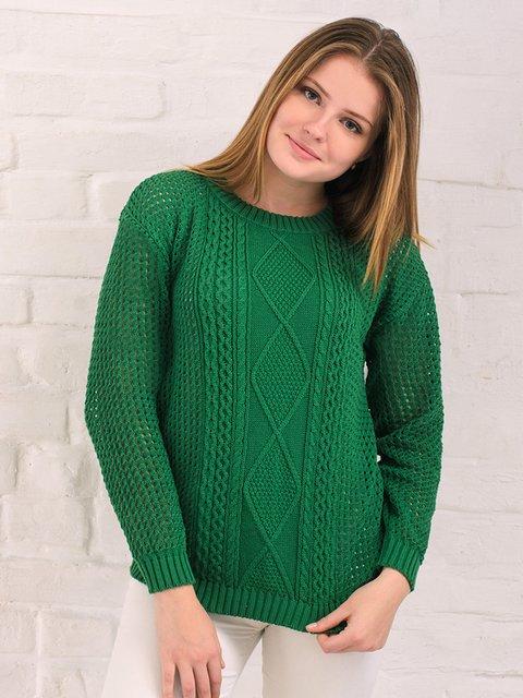Джемпер зеленый G-Rom 3892349