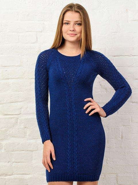Платье темно-синее G-Rom 3892365