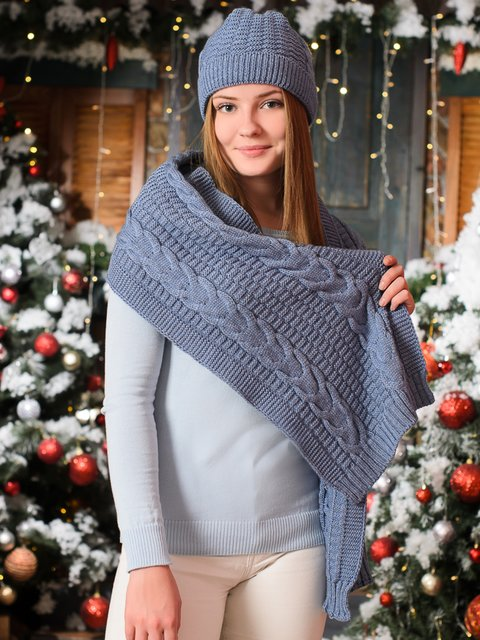 Комплект: шапка і шарф G-Rom 3892432
