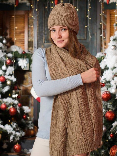 Комплект: шапка и шарф G-Rom 3892433
