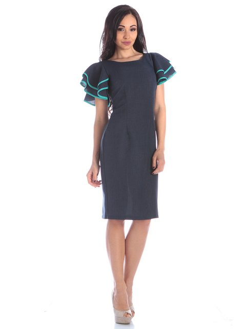 Сукня темно-синя Maurini 3895643