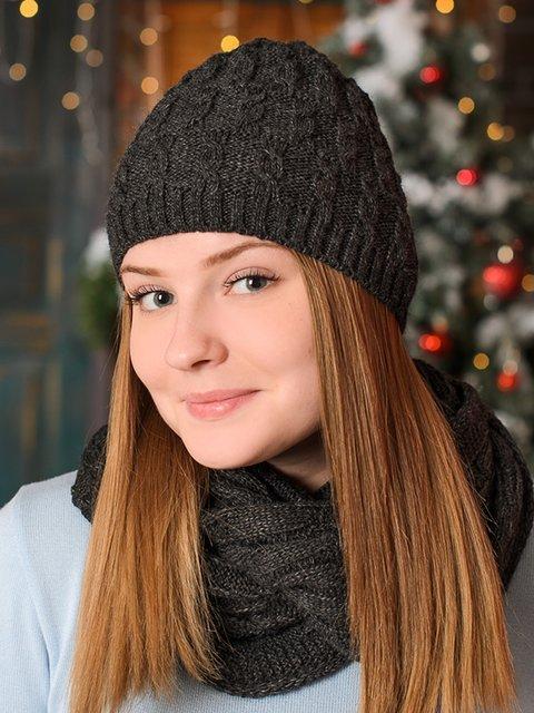 Комплект: шапка и снуд G-Rom 3892421