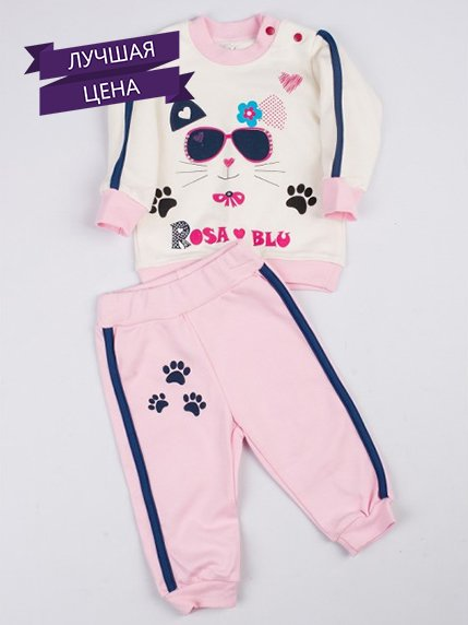 Комплект: джемпер і штани Rosa&Blu 3778629