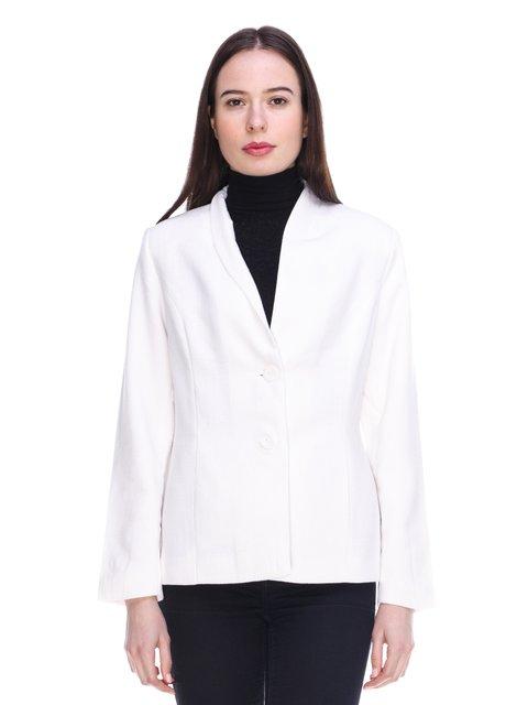 Жакет білий Elegance 3897712