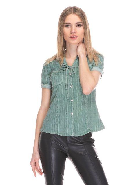 Рубашка зеленая Cool&Sexy 3044797