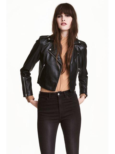 Куртка чорна H&M 3897309