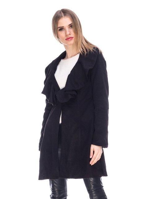 Пальто черное Maxmore 3764874