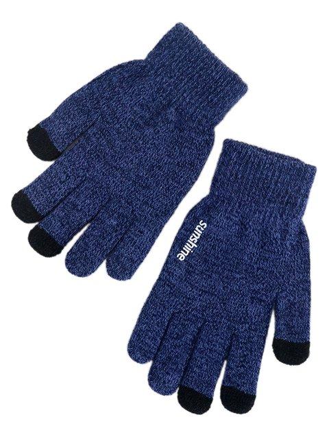 Перчатки синие сенсорные Traum 3903749