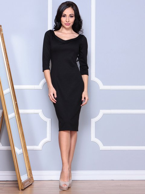 Платье черное Laura Bettini 3904101
