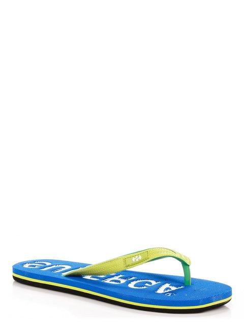 Вьетнамки салатово-голубые Superga 3901241