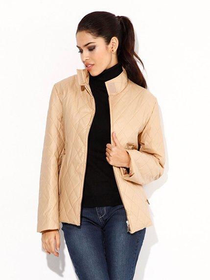 Куртка бежевая Carla Rizzi 3904811