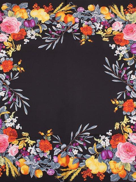 Хустка з квітковим принтом Eterno 3876803