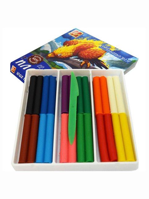 Пластилін «Фантазія» (12 кольорів) Луч 3906565