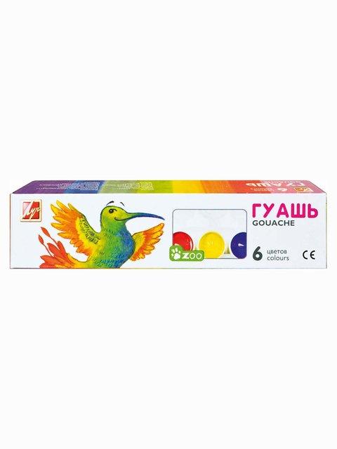Гуаш «Міні» (6 кольорів) Луч 3906631