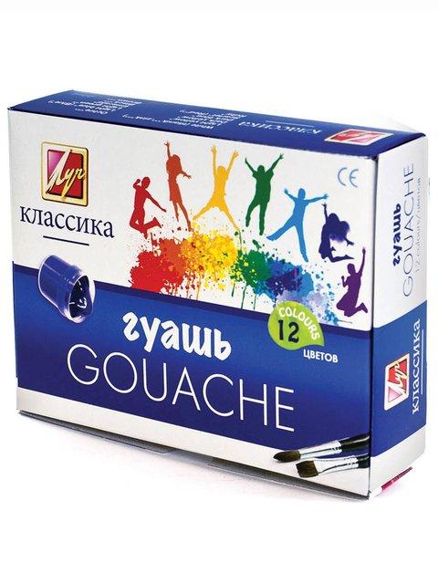 Гуаш «Класика» (12 кольорів) Луч 3906637