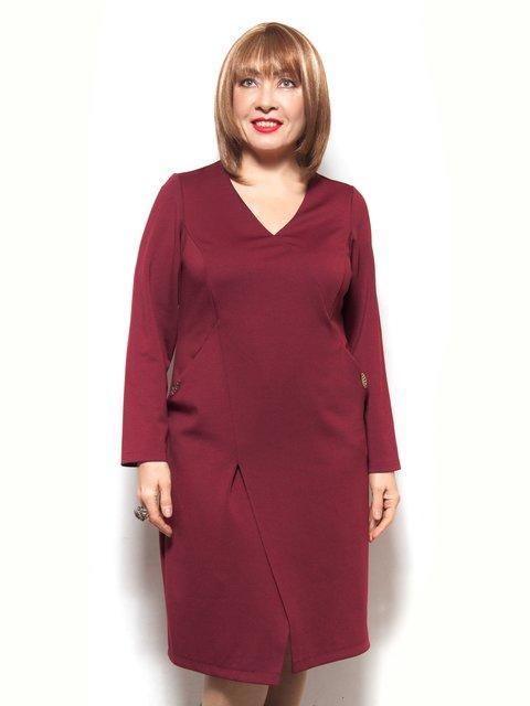 Платье бордовое LibeAmore 3906817