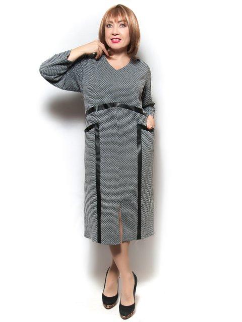 Платье серое LibeAmore 3906836