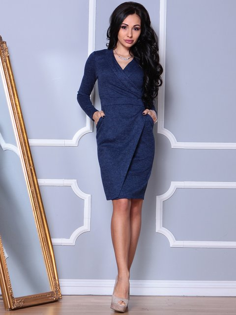 Платье синее Laura Bettini 3908195