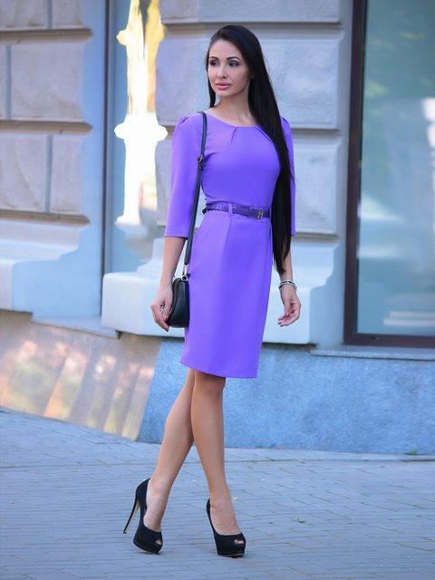 Платье светло-фиалкового цвета Dioni 1912483