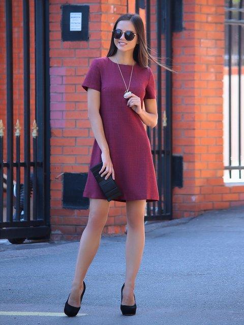 Платье светло-сливовое Laura Bettini 2345479