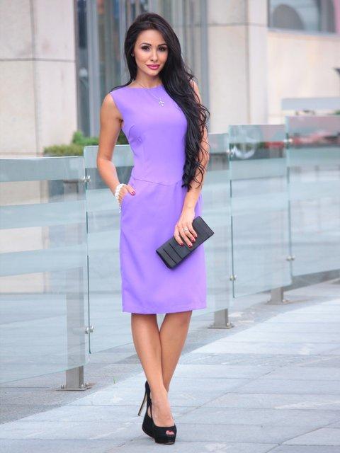 Платье светло-фиалкового цвета Laura Bettini 2363185