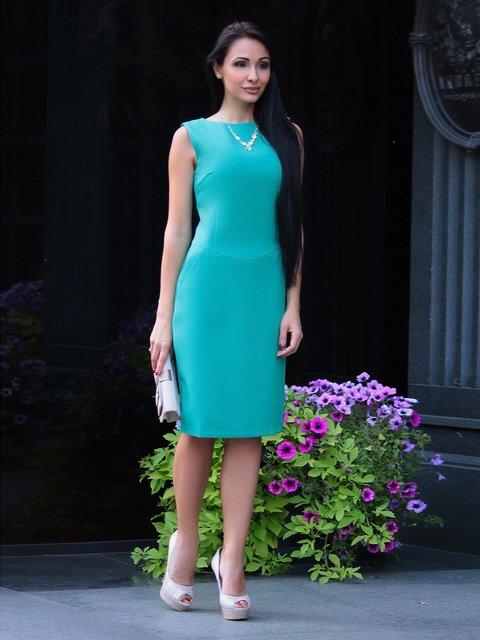 Сукня кольору зеленої сосни Laura Bettini 2507290