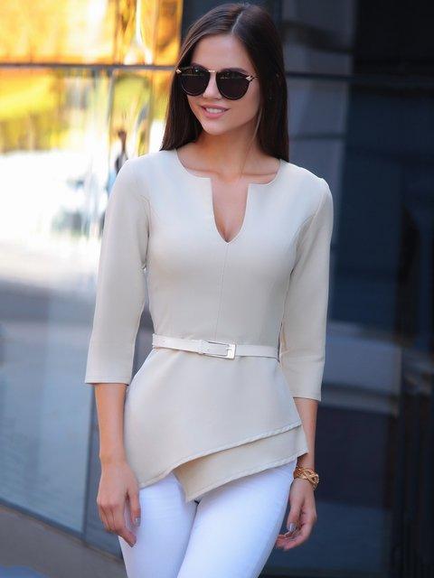 Блуза бежевая Dioni 2741501
