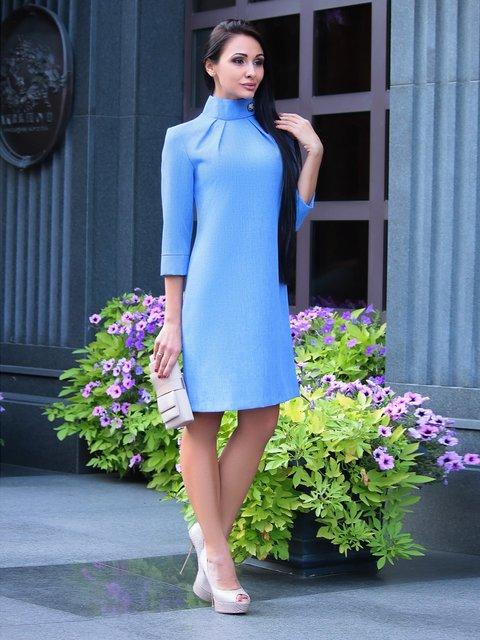Сукня кольору електрик Dioni 3091034