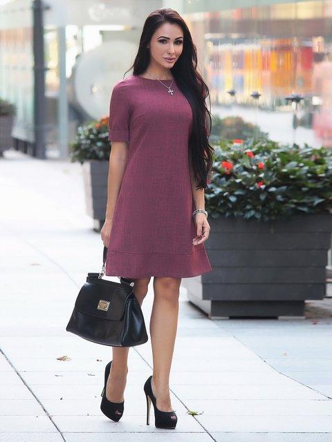 Сукня бордова Rebecca Tatti 3091318