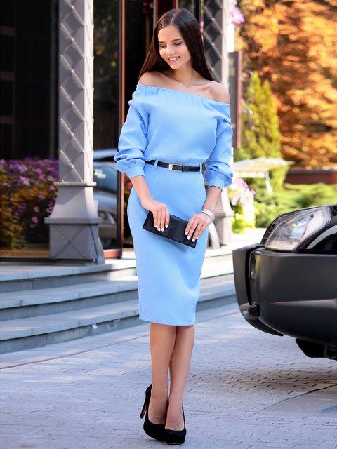 Сукня блакитна Laura Bettini 3214768