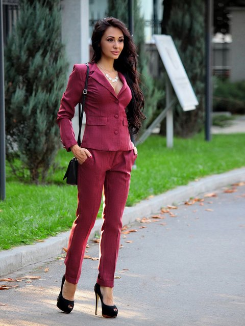 Костюм: жакет и брюки Laura Bettini 3258180