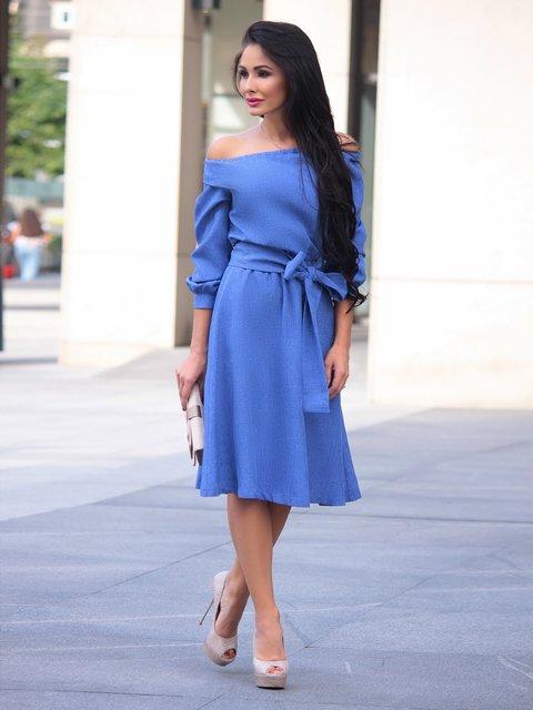 Сукня синя Laura Bettini 3258182