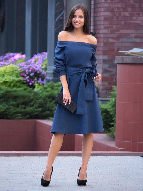 Сукня темно-синя Laura Bettini 3364685