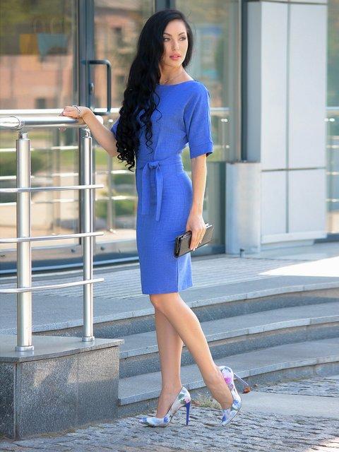 Платье синее Victoria Loks 3388203