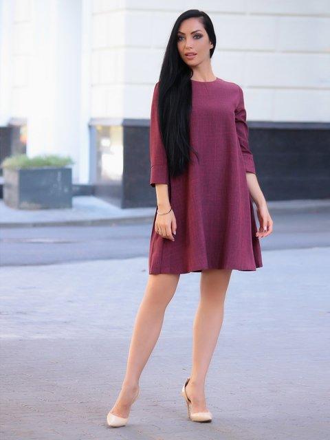 Сукня світло-сливова Victoria Loks 3581102