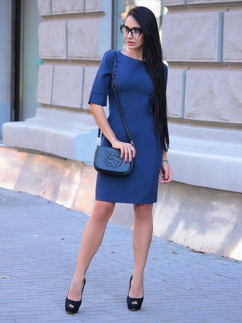 Сукня темно-синя Laura Bettini 3916426