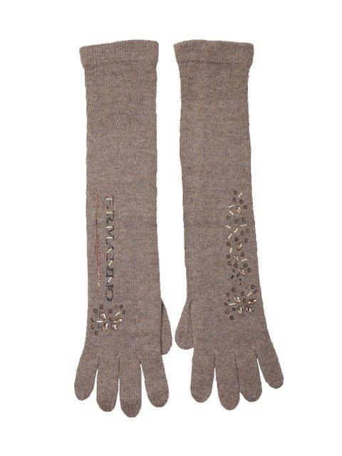 Перчатки светло-коричневые Ermanno Scervino 3922981