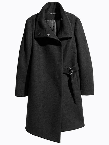 Пальто чорне LaNoo 3921355