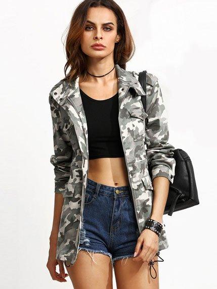 Куртка камуфляжной расцветки LaNoo 3923469