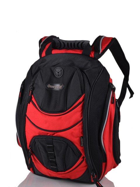 Рюкзак чорно-червоний ONEPOLAR 3924264