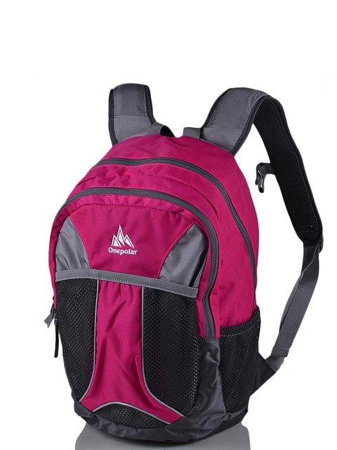 Рюкзак малиново-сірий ONEPOLAR 3924308