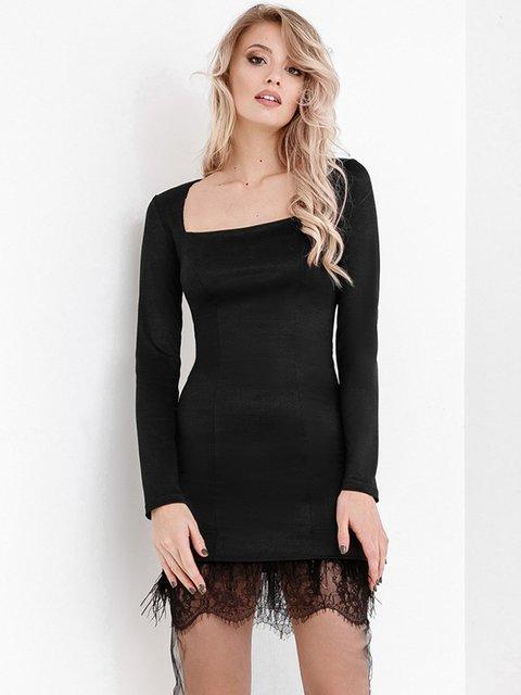 Платье черное Gepur 3882408