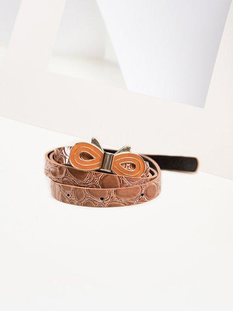 Ремень коричневый Gepur 3920001