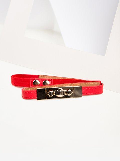Ремень красный Gepur 3920008