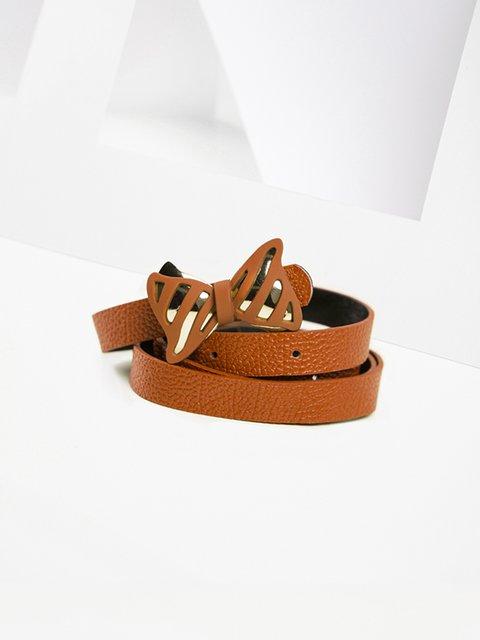 Ремень коричневый Gepur 3920013