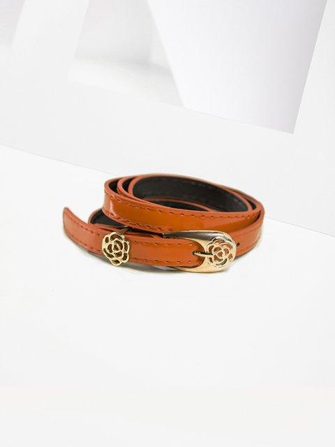 Ремень коричневый Gepur 3920015
