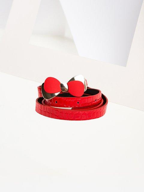 Ремень красный Gepur 3920031