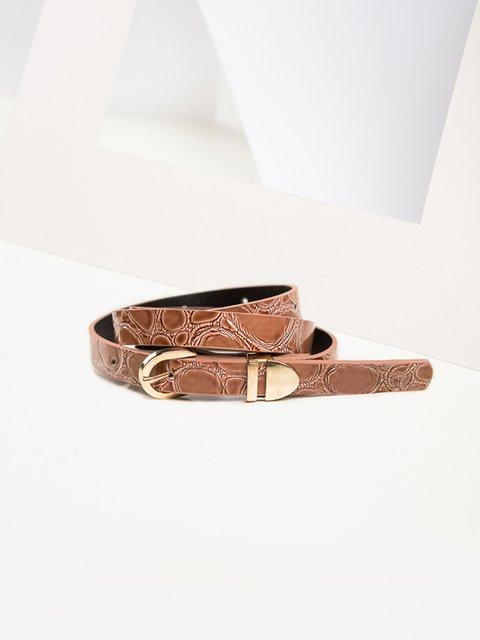 Ремень коричневый Gepur 3920032